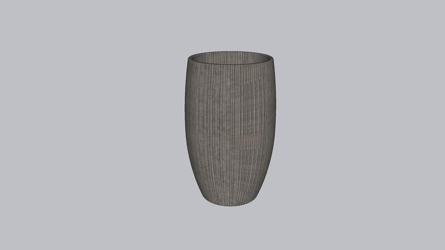 20 INCH CASTEL PLANTER
