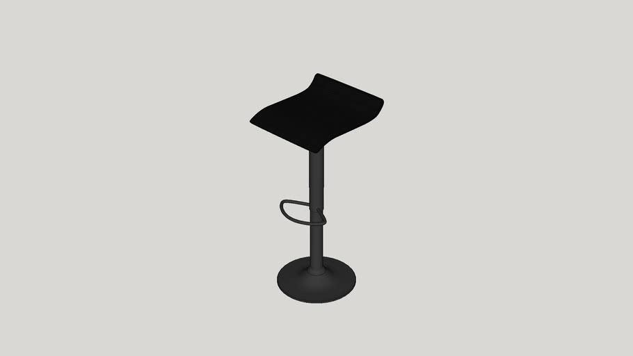 Decker Adjustable Height Swivel Bar Stool
