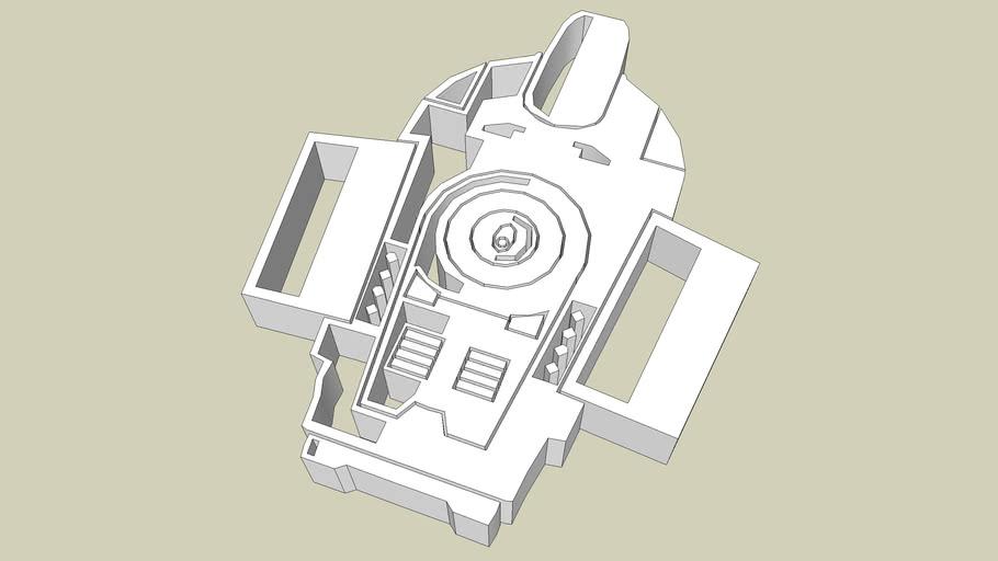 00048 STAR TREK CRONOS - DEFIANT PIN