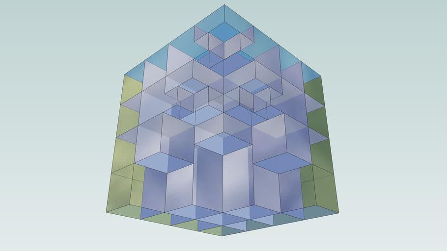 Open Translucent Cube