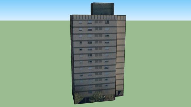 Bâtiment situé Av Juan B. Justo 2222-2300, Mar del Plata, Province de Buenos Aires, Argentine