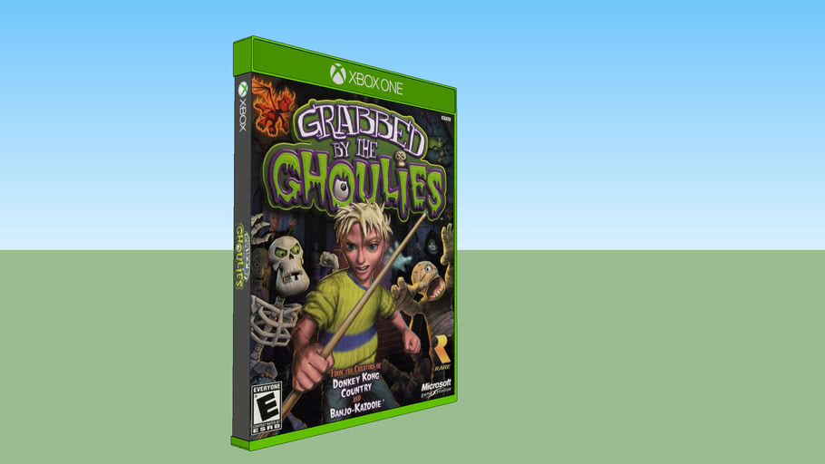Grabbed by the Ghoulies Xbox compatible with Xbox One game case