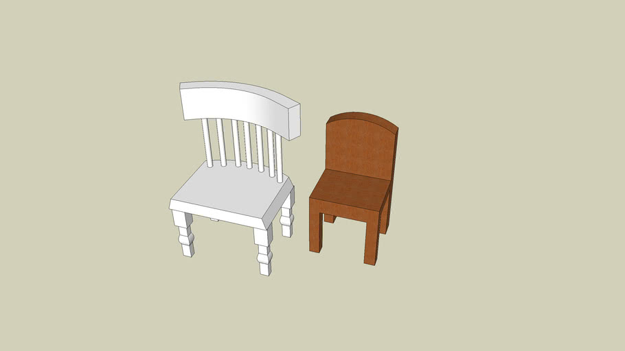 Chairs - easy and difficult
