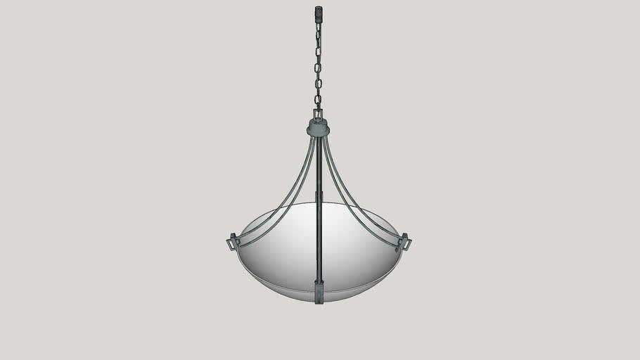 Preston 4 Light Inverted Pendant