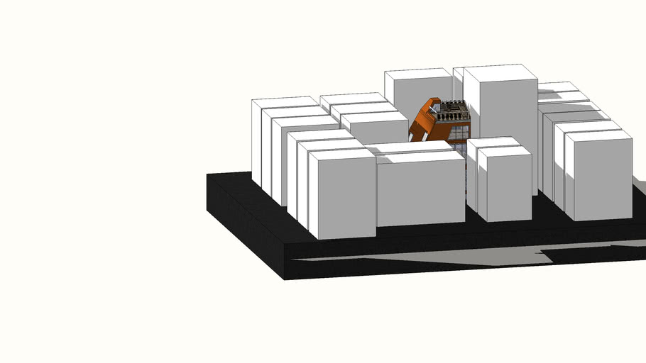 ABRAHAM Sarah_ARCH1080_Project Two SketchUp Model