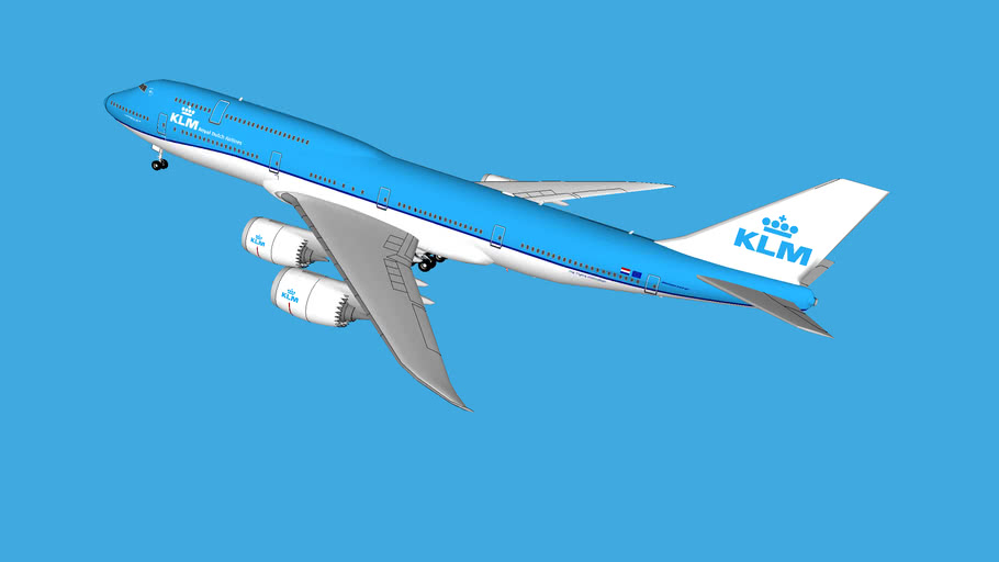 KLM Royal Dutch Airlines - Boeing 747-8i - 2016(F)
