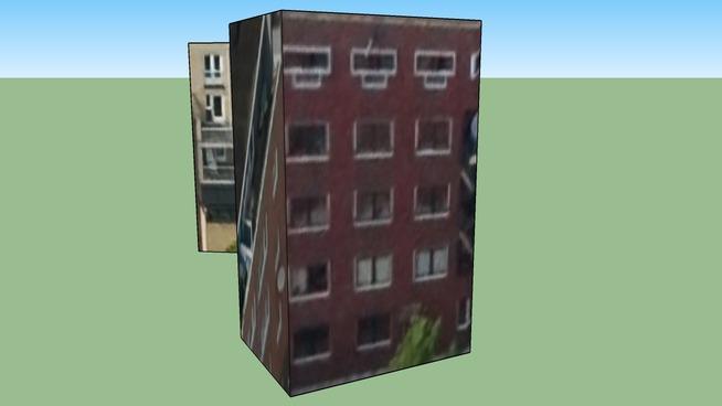 Budynek przy Amsterdam, Holandia