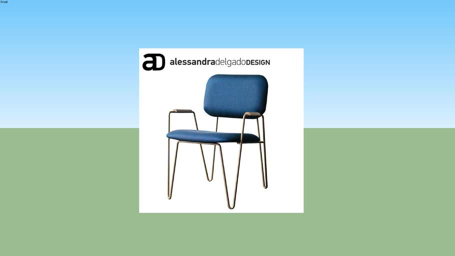 AL-Bru cadeira com braço