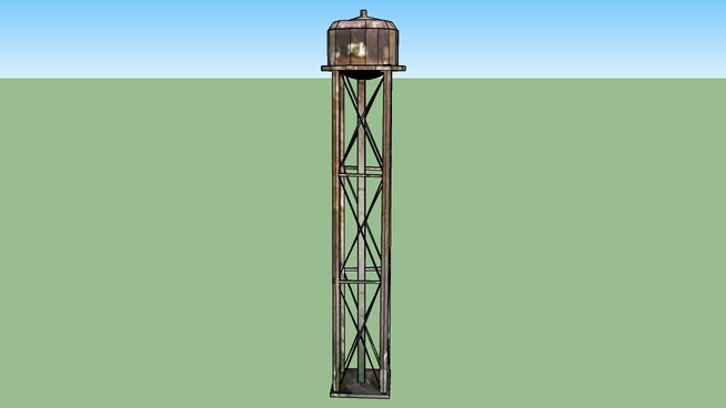 Water tower 2504 Guoin St, Detroit, MI, USA