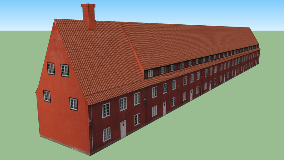 Kastellet Copenhagen - Building Southeast I