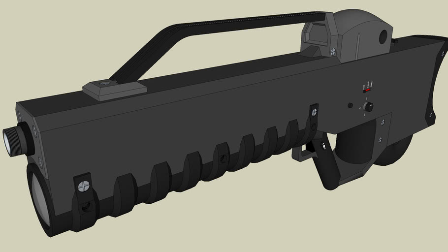 R-98A Mk.1 Assault Rifle (Version 2!)