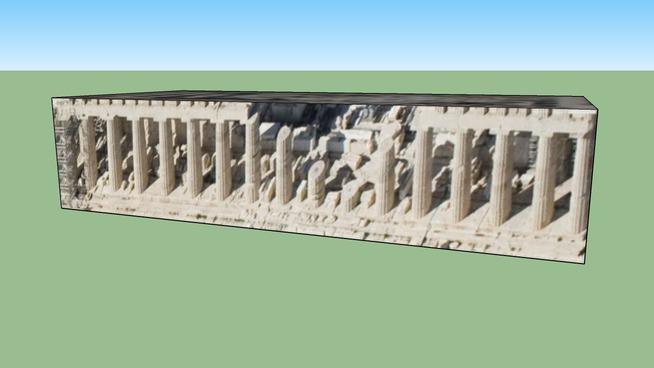 Parthenon in Athens, Greece