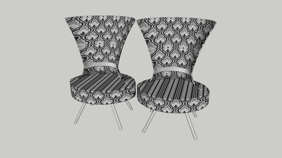 Cilades High Neck Collar Chairs