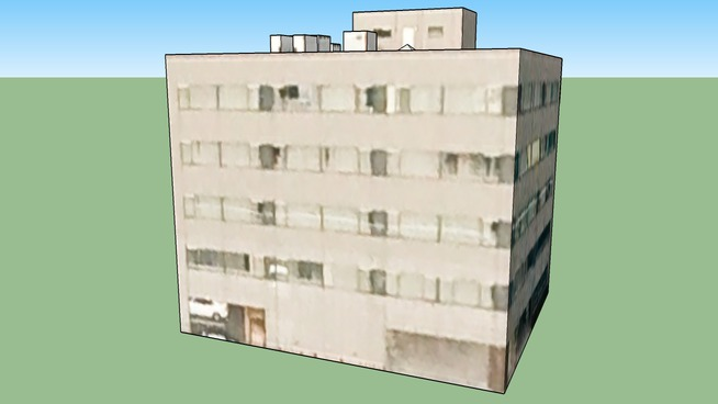 Building in 2丁目 北10条西, Kita Ward, Sapporo City, Hokkaidō Prefecture, Japan