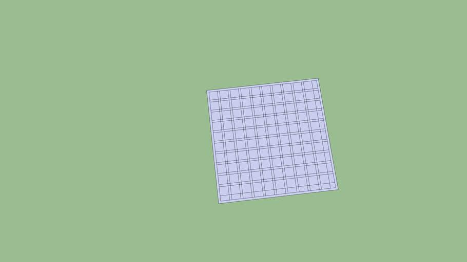 A square maze