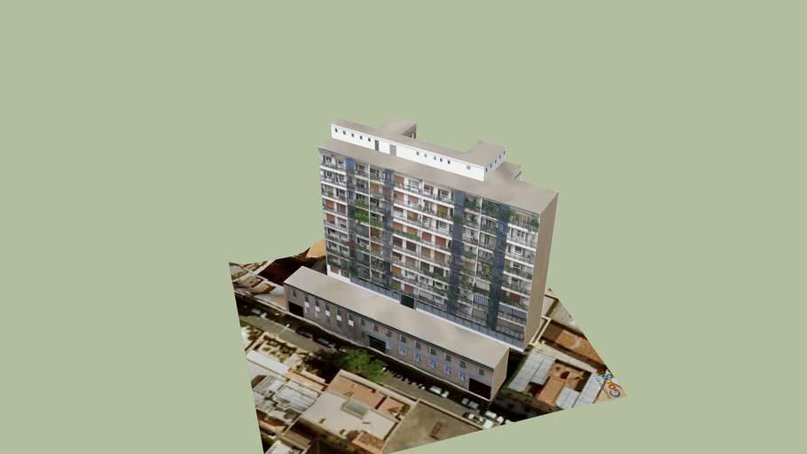 Edificio primi anni '60