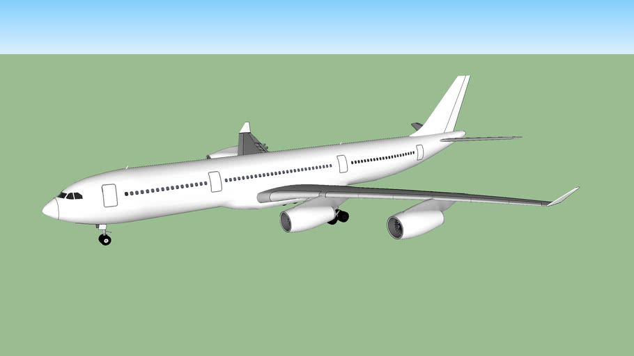 Template - Airbus A340-200