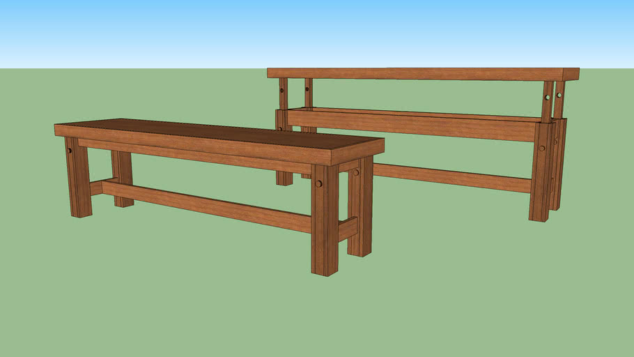 Bench/ Serving Table