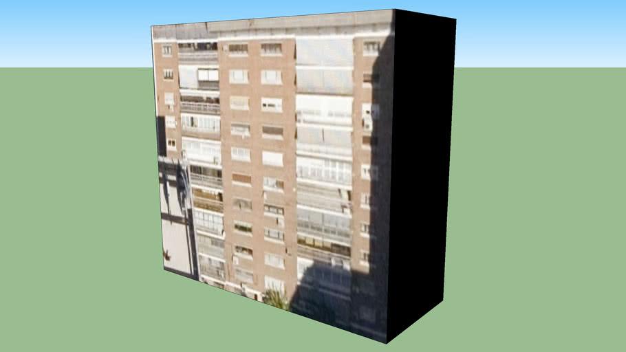 Edifício da Madrid, Espanha