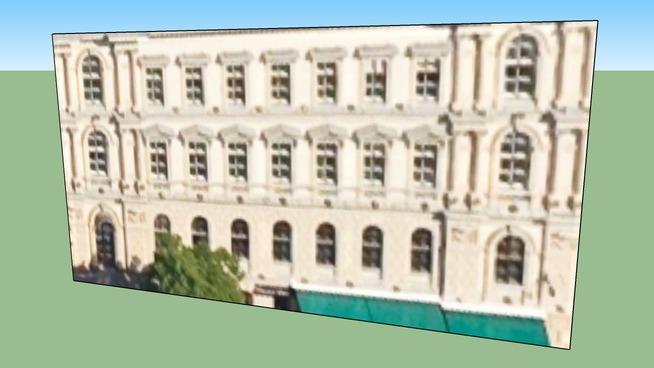 Épület itt: Budapest, Magyarország, Clark Ádám tér