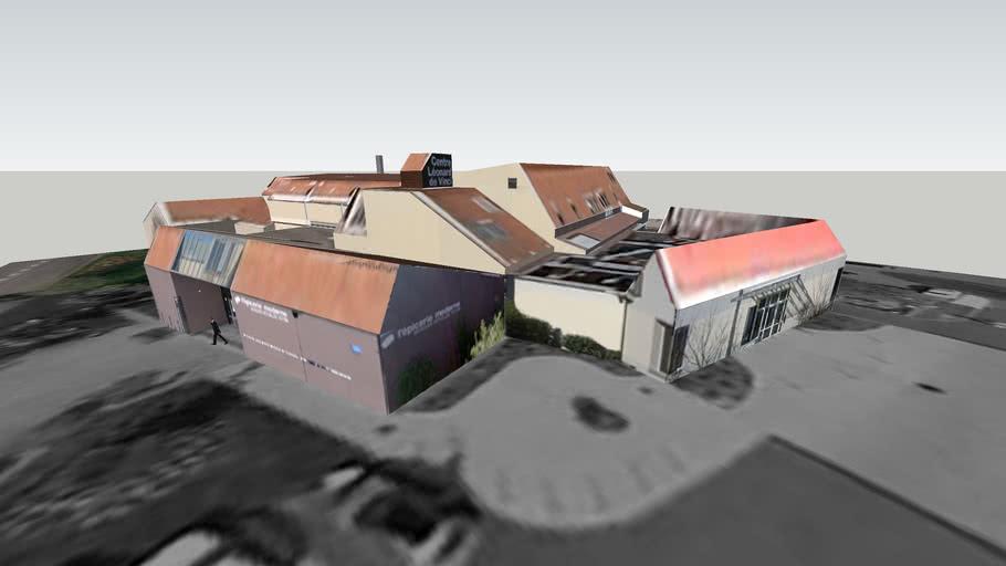 Centre Léonard de Vinci, Epicerie moderne à Feyzin