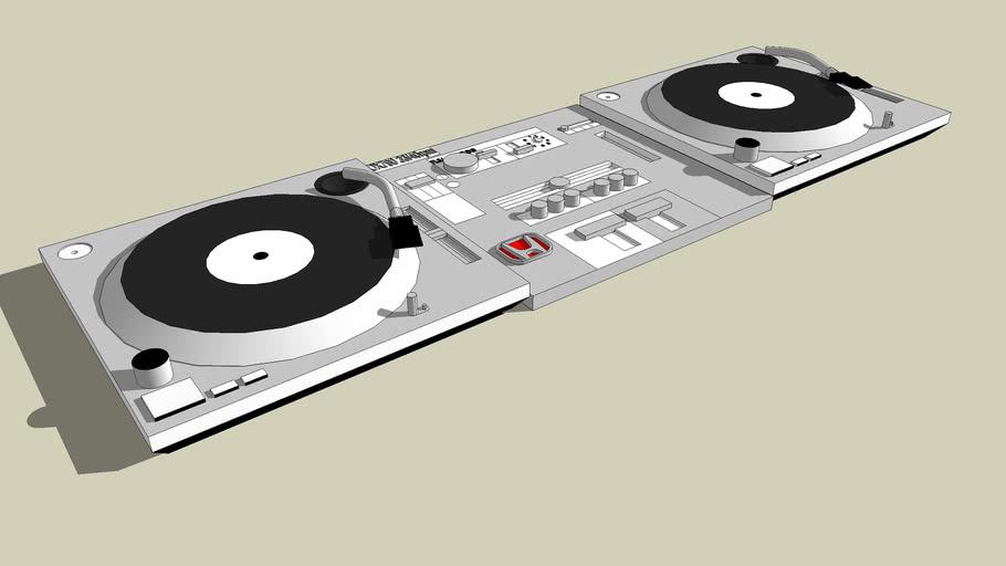 My real life DJ setup