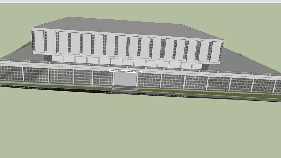 Tribunal Regional Federal da 1ª Região - Edifício Sede I
