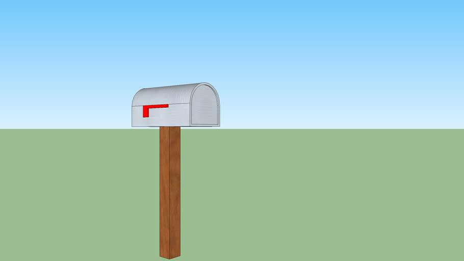 Ordinary mail box