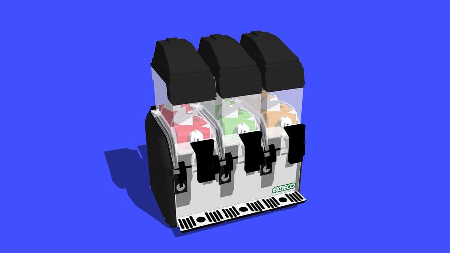 Elmeco 3 bowl Slushie Machine