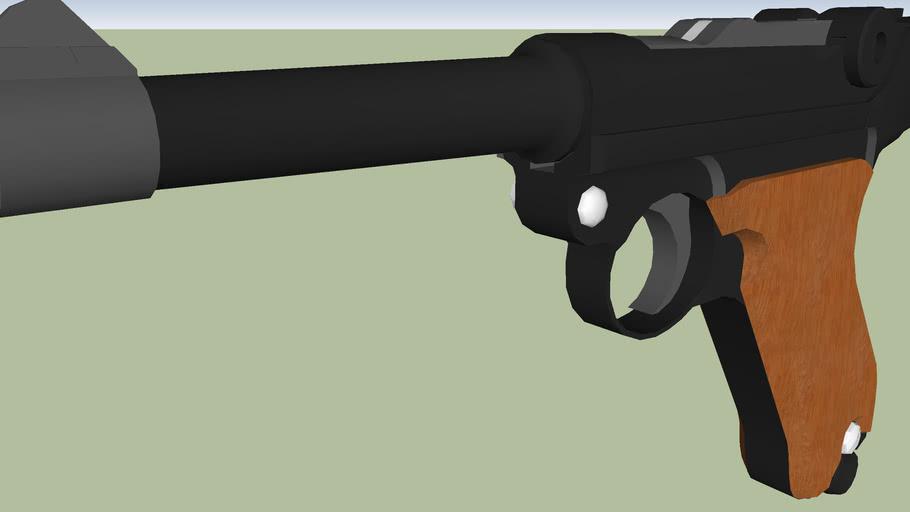 Luger German Officer pistol