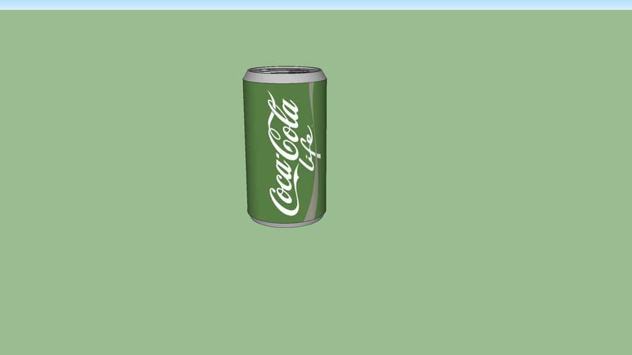 Coke Life Can
