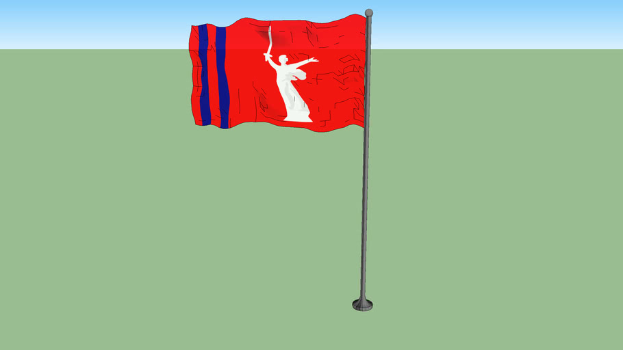 Flag of Volgograd Oblast