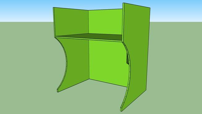 Simple rack for LAN