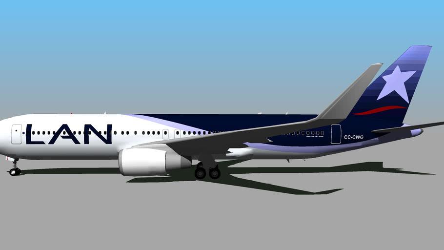 LAN Airlines (CC-CWG) - Boeing 767-316ER (2011)