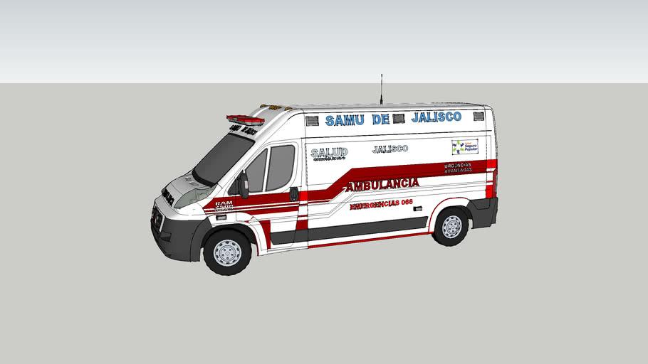 ambulancia samu de tlajumulco de zuniga jalisco