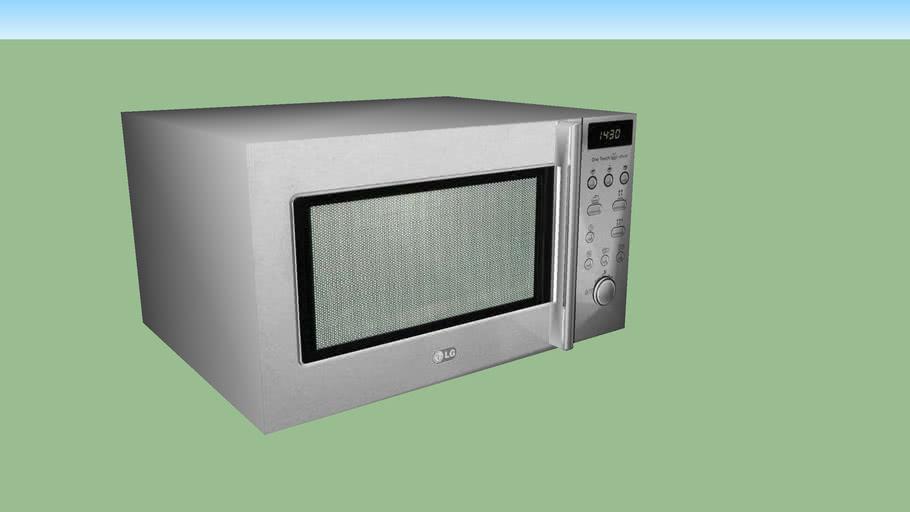 Forno de microondas LG inox