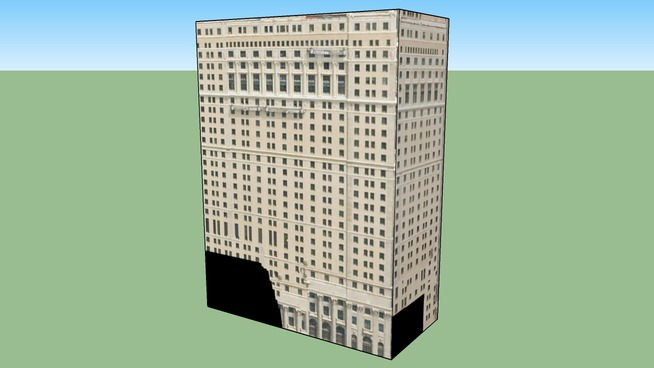 Westing Book Cadillac Building in Detroit, MI, USA