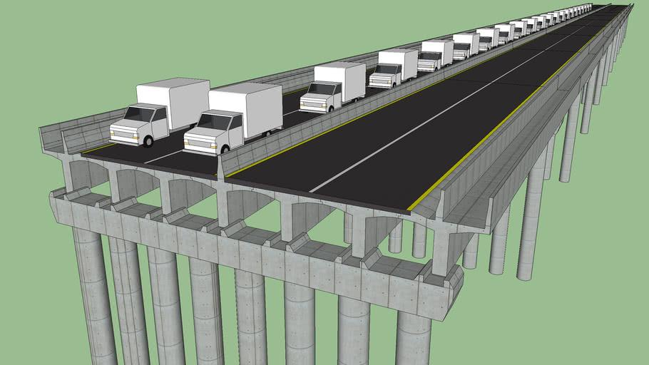 Ponte Pré Fabricada/Concreto