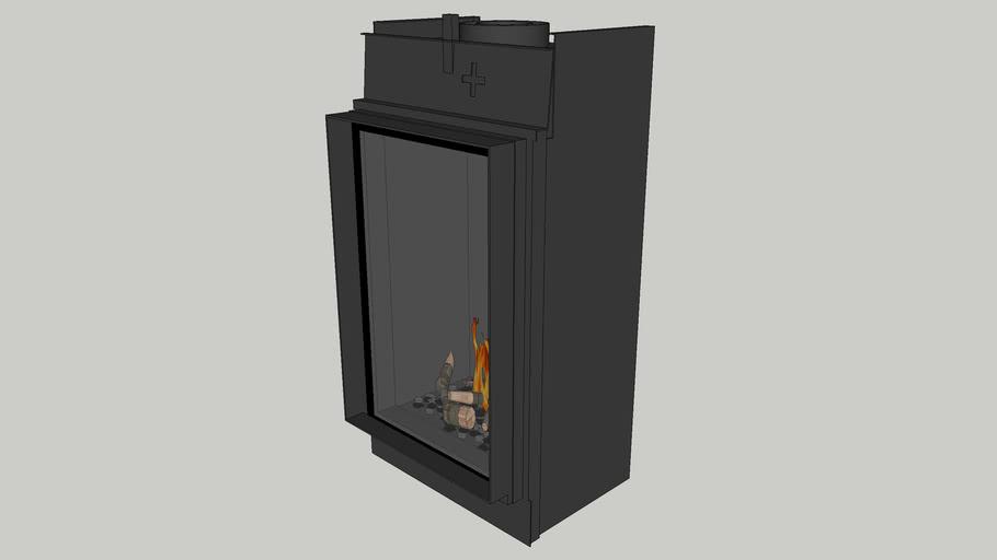 Bellfires Vertical Bell Small-3 hidden door+ 10 cm
