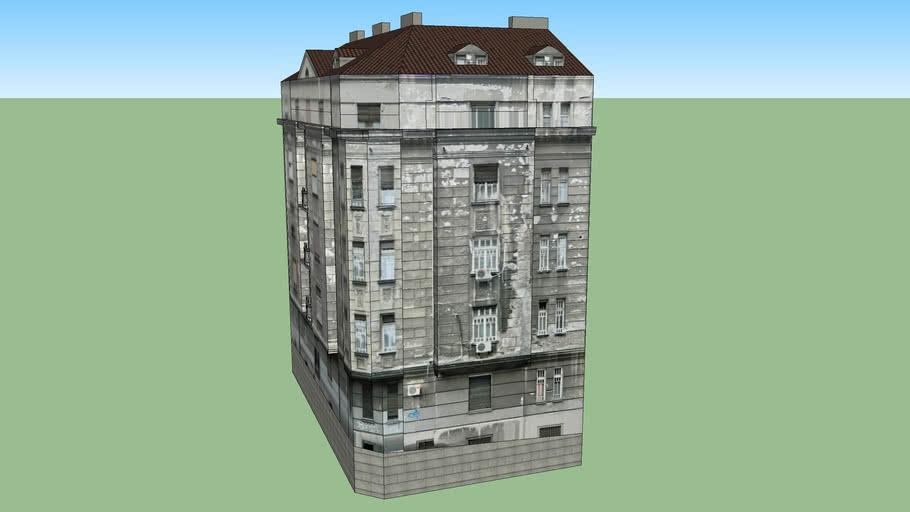 Stambena zgrada u Svetogorskoj ulici br. 13 - Beograd,Srbija