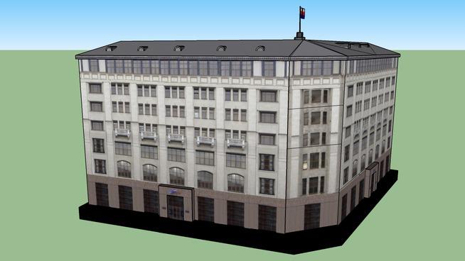 Москва. Министерство транспорта Российской Федерации.