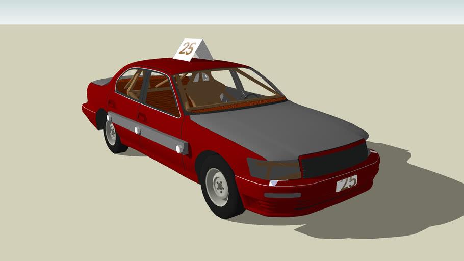 a stock car model