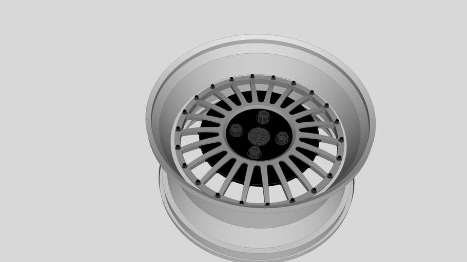 VW Custom Wheel that i designed