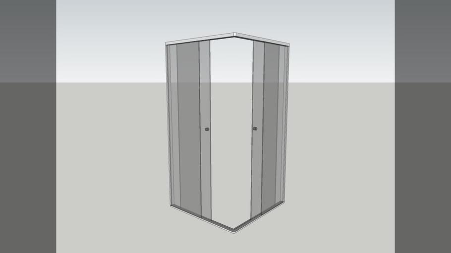 Box canto - Banheiro
