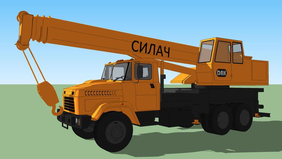 KrAZ-65053 (KTA-28).
