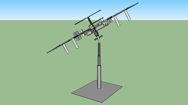 solar mover model iss freiburg