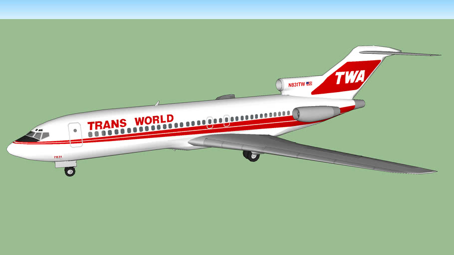Trans World Airlines 727-31 (1990)