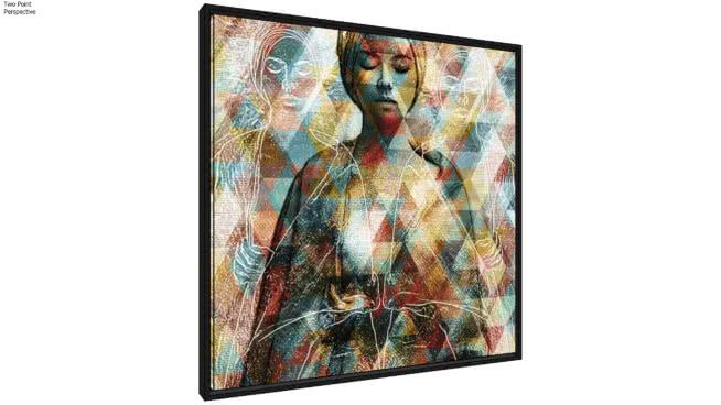 Quadro African Woman II