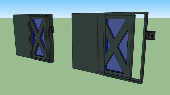 DOOR VFT 668U H.