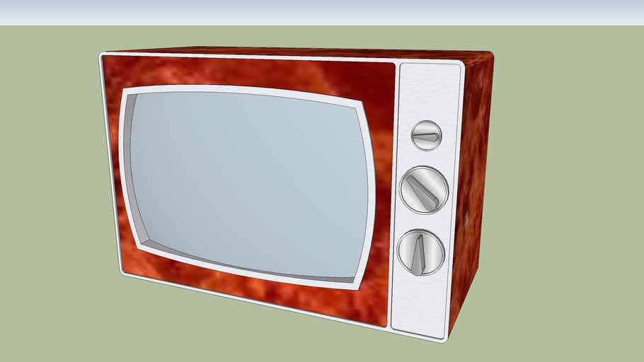 "1' 9"" screen Retro Television Set"